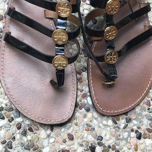 Tory Burch Shoes - Tory Burch Gladiator Sandal black.